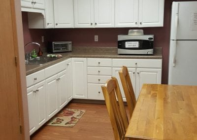 kitchen area | holistic health center | peoria | illinois