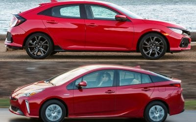 Prius versus Civic. Which should you get?