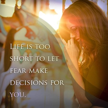 Ways to Face Fears   Succeed